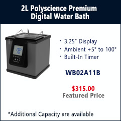 2L Polyscience Premium Digital Water Bath